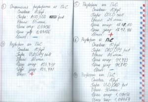 пример: дневник трейдера