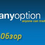 Отзыв о платформе Anyoption